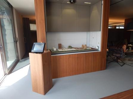 Automated sample display unit - Somium design studio