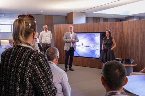 Presentation of 'Armani Villa' by Monica Armani architect, Somium CEO Javier Fur & Commercial & Project Director Javier Navarro